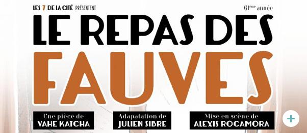 Le Repas des Fauves à Paris au profit de l'association !