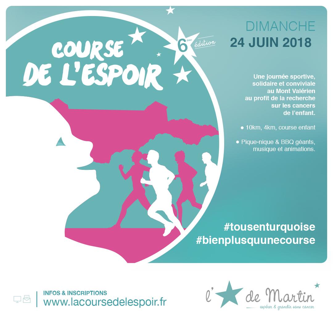 La Course de l'Espoir – 24/06/2018