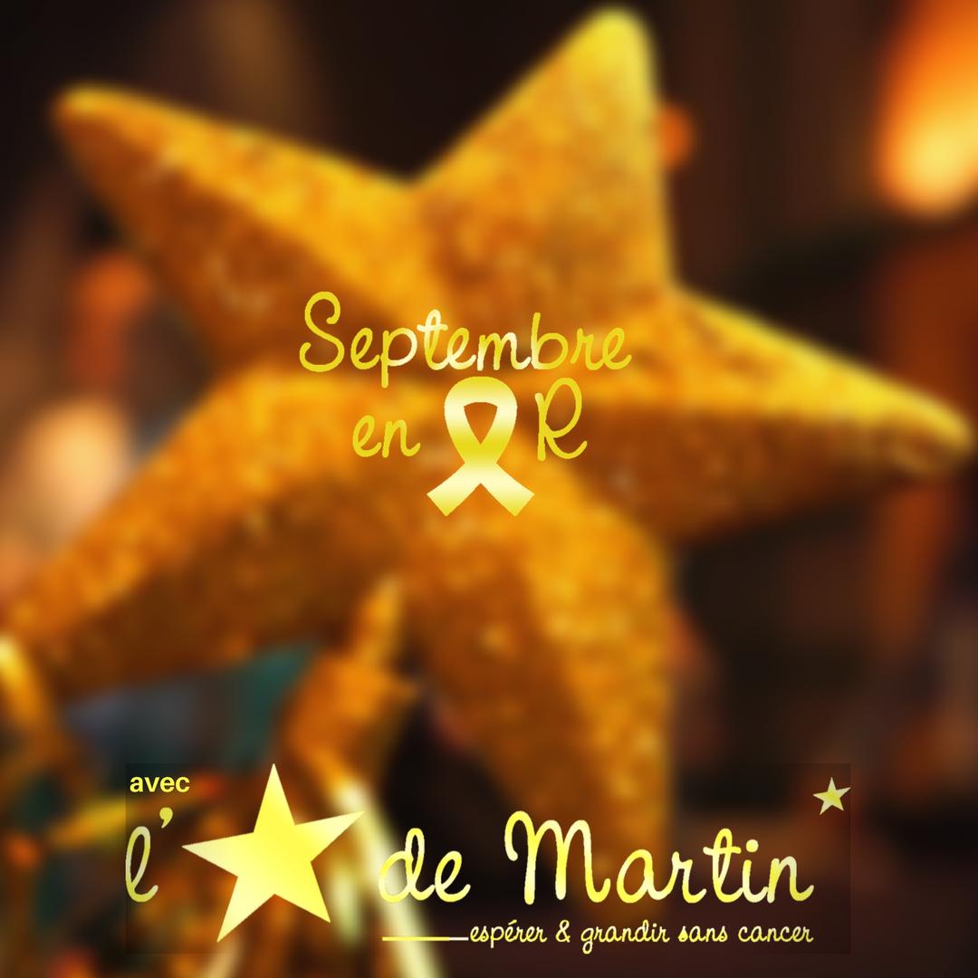 Septembre en Or avec l'Etoile de Martin