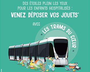Les Trams du Coeur avec la RATP !