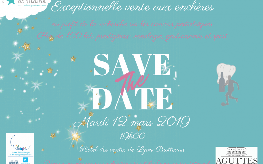 Exceptionnelle vente aux enchères à Lyon le 12 mars 2019