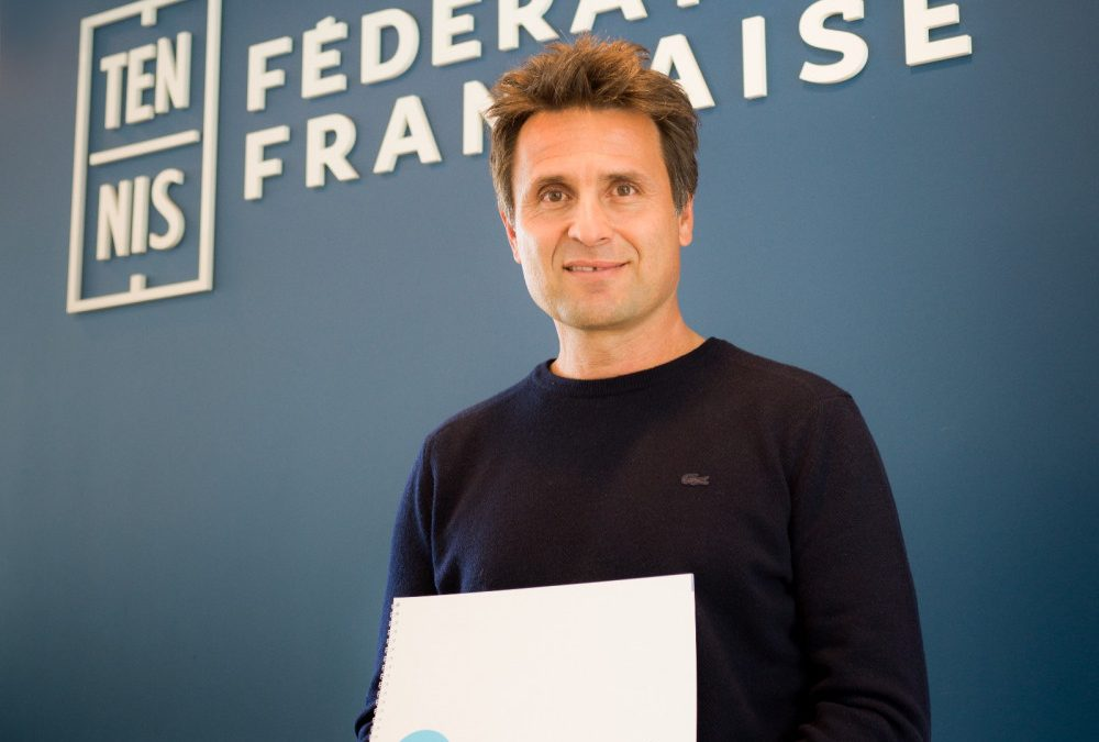 Un cours de tennis avec Fabrice Santoro